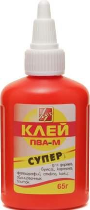 Клей ПВА СУПЕР 65 г морозоуст. красный флакон