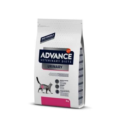 Сухой корм для кошек Advance Urinary, при мочекаменной болезни, 3 кг