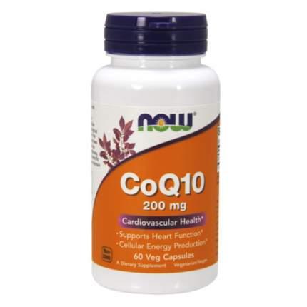 NOW CoQ10 200 мг (60 капсул) - коэнзим q10 для сердца