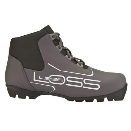 Ботинки для беговых лыж Spine Loss SNS 2019, black/grey, 35