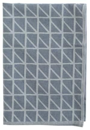 Кухонное полотенце с принтом Twist темно-синего цвета Cuts&Pieces 45х70
