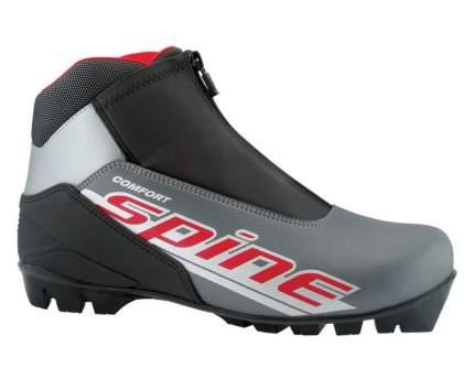 Ботинки для беговых лыж Spine Сomfort 83/7 NNN 2019, black/grey, 37