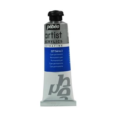 Акриловая краска Pebeo Artist Acrylics extra fine №2 циан основной 37 мл