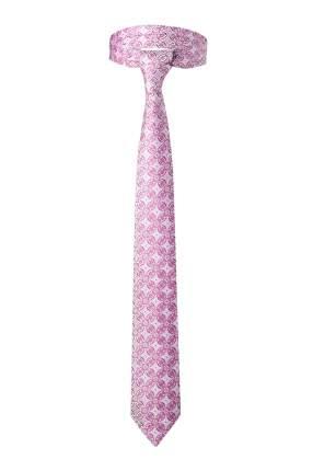 Классический галстук Пробуждение со стильным принтом Signature 204364 розовый