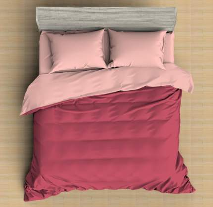 Постельное бельё Amore Mio Рубин Макосатин 1,5 спальный