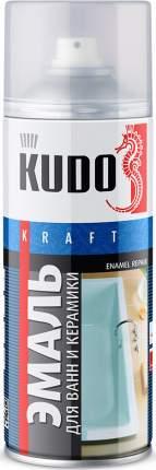 Эмаль KUDO для ванн белая