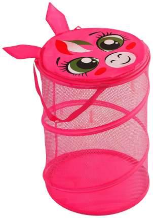 Корзина для хранения игрушек Наша Игрушка Пони 2951946
