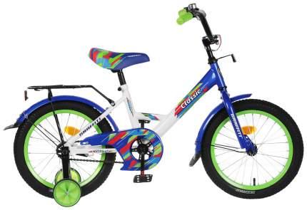"Велосипед 16"" Graffiti Classic RUS, 2019, цвет белый/синий Graffiti"