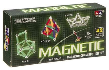 """Магнитный конструктор """"MAGNETIC"""", колор, 42 детали"""