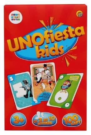 Настольная игра. УНИОФИЕСТА КИДС (UNOfiesta kids) Союзмультфильм