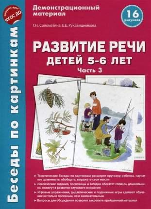 Беседы по картинкам развитие Речи Детей 5-6 лет. Ч.3. 16 Рисунков. Фгос До