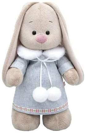 Мягкая игрушка Budi Basa Зайка Ми в трикотажном платье, 25 см