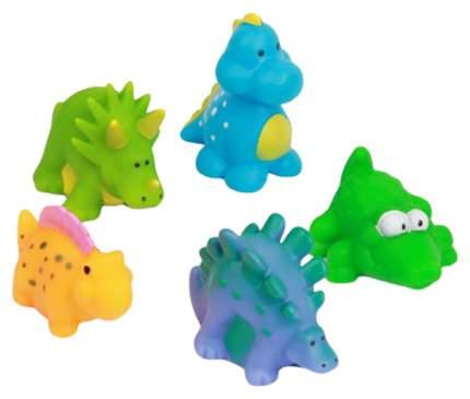 """Набор из 5 игрушек для ванны """"Динозаврики"""" Крошка Я"""