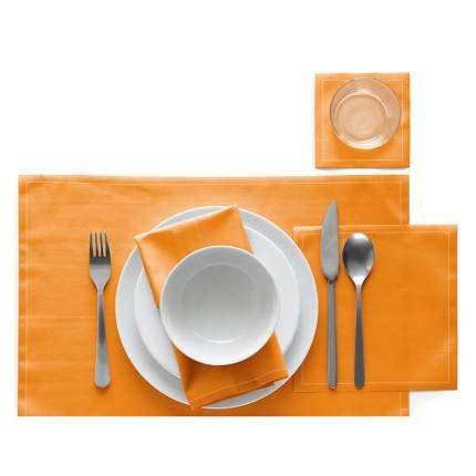 Салфетки MY DRAP 20х20см 25 шт в рулоне, цвет оранжевый