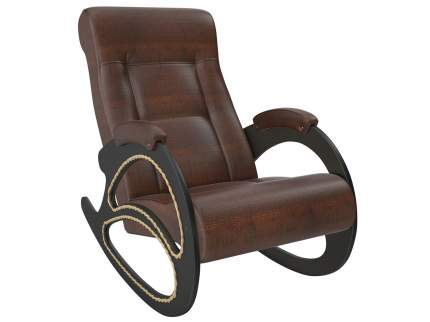 Кресло-качалка Мебель Импэкс Кресло-качалка Комфорт Модель 4 венге, Antic Crocodile