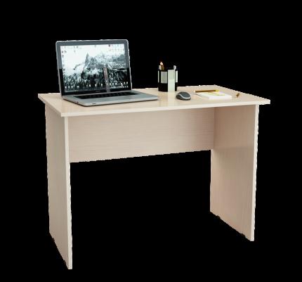 Компьютерный стол МФ Мастер Милан-5 Дуб молочный