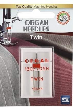 Иглы Organ двойные 1-100/4 Blister