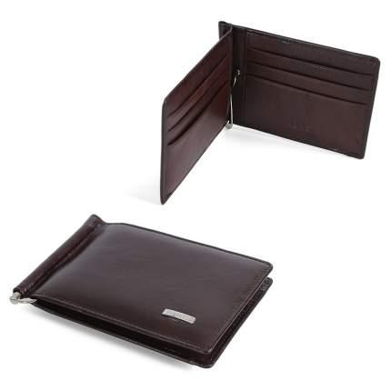 Зажим для денег FABRETTI 32006V-12 коричневый