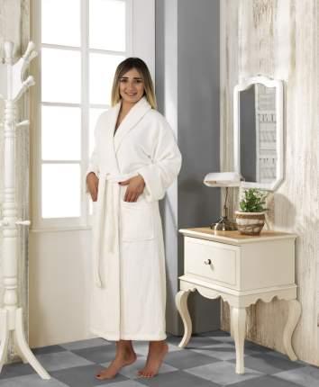 Банный халат Karna Basic Цвет: Кремовый (S)