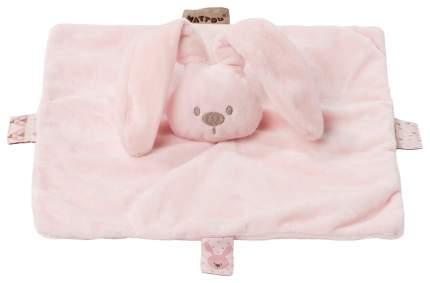 Игрушка мягкая Nattou Doudou (Наттоу Дуду) Lapidou Кролик pink 878067