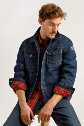 Куртка мужская Finn Flare A19-22004 синяя L
