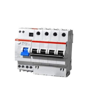 ABB DS204 C40 Диффавтомат четырехполюсный 40А 30mA 6kA