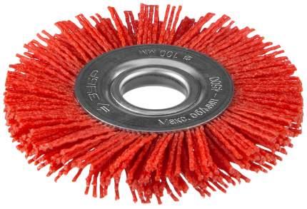 Дисковая кордщетка для угловых шлифмашин Зубр 35160-100