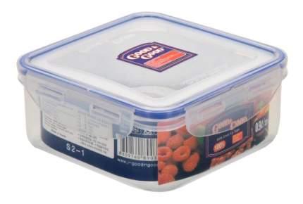 Пластиковый контейнер для продуктов с зажимом 0,9 л