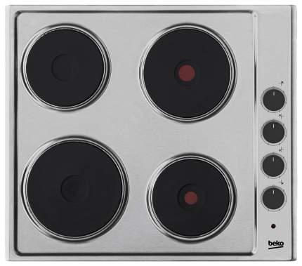 Встраиваемая варочная панель электрическая Beko HIZE 64101 X Silver