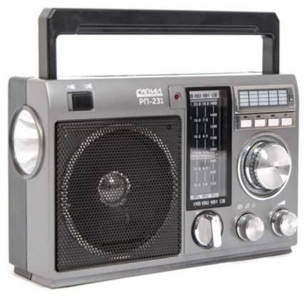 Радиоприемник Сигнал РП-231 Черный/Серый (17841)