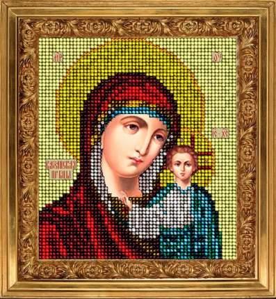 Набор для вышивания ювелирным бисером Краса и творчество 11113 Казанская икона 9,8х11 см