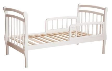 Кровать детская Красная Звезда Арсений С 822 с бортиком Белый