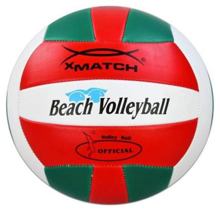 Волейбольный мяч X-Match 56299 №2 red/white/green