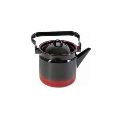 Чайник для плиты СТАЛЬЭМАЛЬ 1С25/Я 2 л