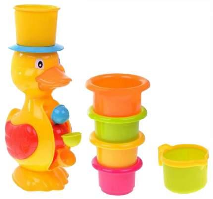 Набор игрушек для ванны Zhorya утенок-мельница ZYK-0766