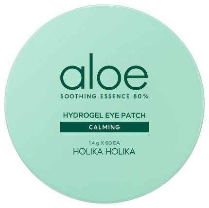 Патчи для глаз Holika Holika Aloe Soothing Essence 80% Hydrogel Eye Patch Calming 60*1,4 г