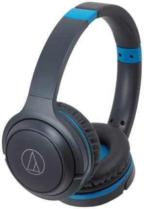 Беспроводные наушники Audio Technica S200BT Black/Blue