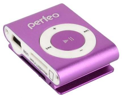 МР3-плеер с клипсой Perfeo Titanium Lite Фиолетовый