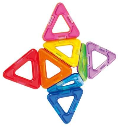 Конструктор магнитный Магнитой LL-1005 12 квадратов 8 треугольников
