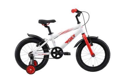 Велосипед Stark19 Foxy 16 белый/красный/серый