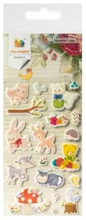 Набор декоративных наклеек Липляндия Животные