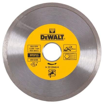 Диск отрезной алмазный DeWalt DT 3713