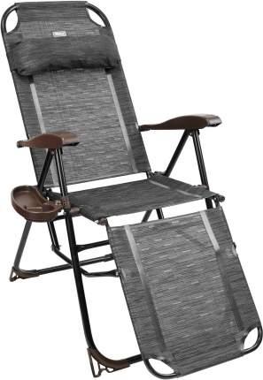 Кресло-шезлонг Nika КШ3 КШ3 венге серый