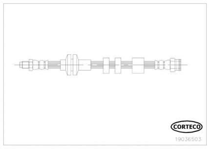 Шланг тормозной системы CORTECO 19036503