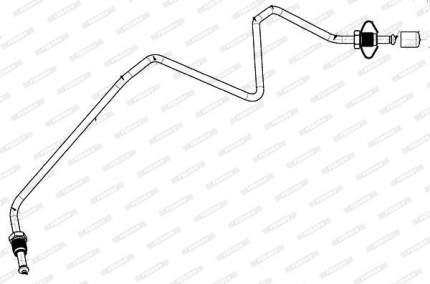 Шланг тормозной FERODO FHY3344
