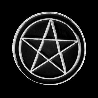 Значок Пентаграмма, металл