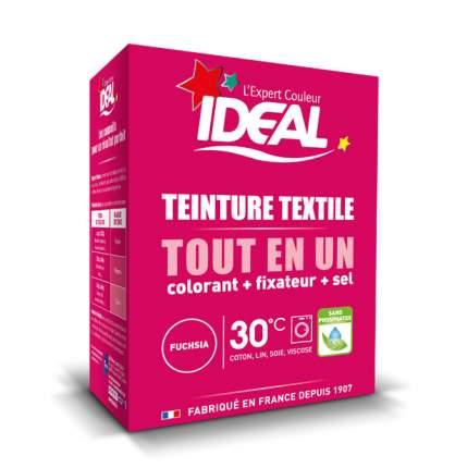 Краска для одежды и тканей Ideal MINI Все в Одном розовая фуксия, 230 г