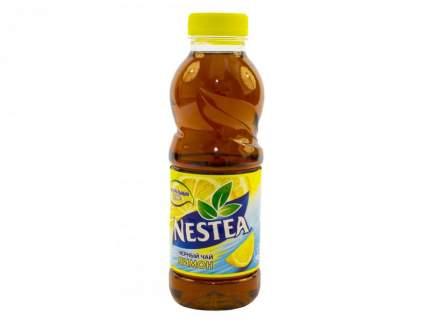 Напиток Nestea холодный чай черный со вкусом лимона негазированный безалкогольный 0.5 л