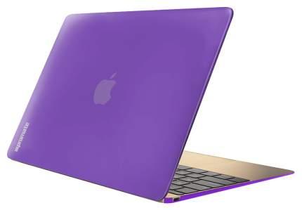 "Чехол для ноутбука 12"" Promate MacShell Purple"