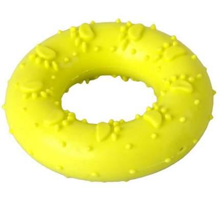 Игрушка для собак HOMEPET, резина, желтый